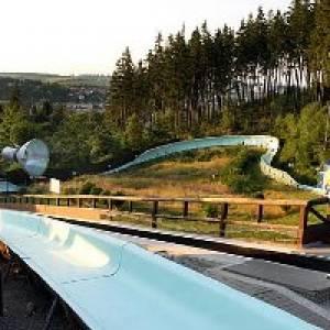 """Freizeit- und Rennschlittenbahn """"Wolfram Fiedler"""" (c) Stadt Ilmenau"""