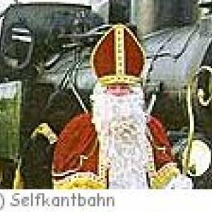 Nikolausfahrt mit der Museumsbahn Selfkant