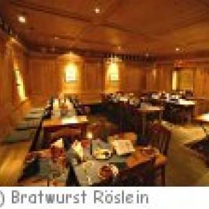 Nürnberg Bratwurst Röslein