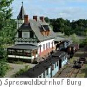 Gasthaus & Pension Spreewaldbahnhof in Burg