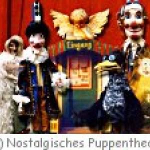 Nostalgisches Puppentheater