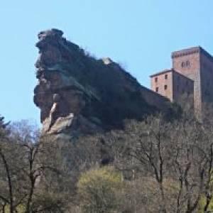 Kaiserburg Trifels