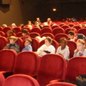 Kinder im Kinderkino in Bremerhaven