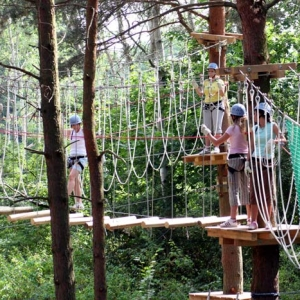 Der CLIMB UP! - Kletterwald® in Hennigsdorf