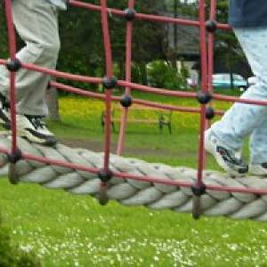 Spielplatz Biberburg in Laubegast