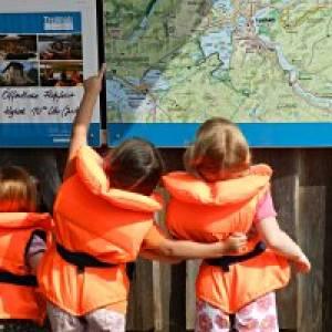 Unterwegs mit Kanu, Floß oder Hydrobike in der Uckermark