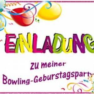 Max Munich Bowling Kindergeburtstag