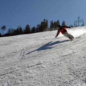 Skifahren am Mehliskopf