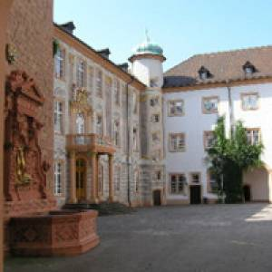 Blick durch das Osttor - Museum Ettlingen
