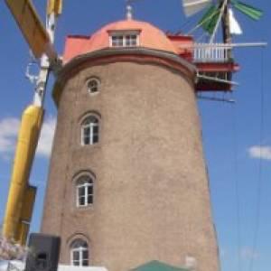 (c) Mühlenhof bzw. Turmholländer Windmühle Pahrenz