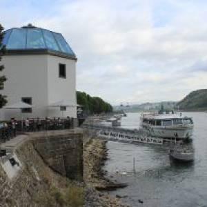 Alter Rheinkran - Pegelhaus in Koblenz
