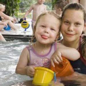 Badespaß im Geibeltbad in Pirna