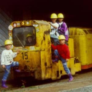 Bahn zum Besucherstollen im Weltkulturerbe Rammelsberg