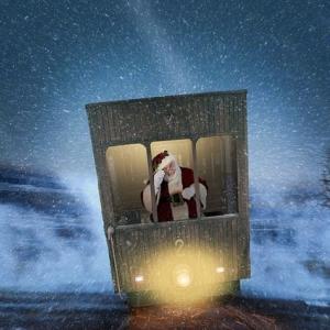 Nikolaus im Zug