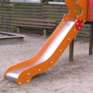 Rutsche auf dem Spielplatz