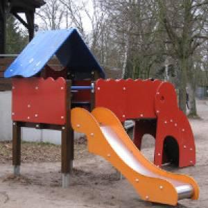 Spielplatz im Tierpark Walldorf