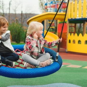 Spielplatz im Blüherpark in Dresden