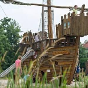 Spielplatz Arche Noah auf Spiekeroog
