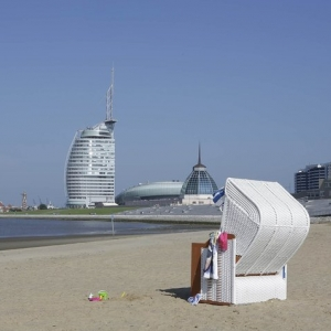 Das Weser-Strandbad in Bremerhaven