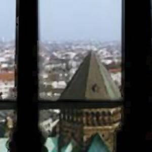 Blick vom Turm des Domes in Bremen