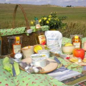 Der Uckermärker Picknickkorb