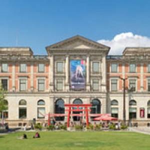 Frontansicht des Übersee-Museums Bremen
