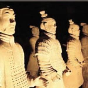Die Armee der Tonkrieger in Ückeritz