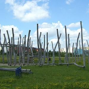 Berlin - Spielplätze im Wiesenpark
