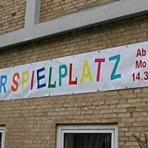 Winterspielplatz in Kiel