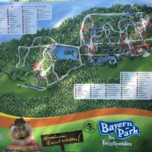 Übersichtsplan des Bayernparks
