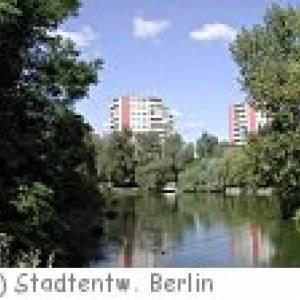 Fennpfuhlpark in Berlin Bezirk Lichtenberg