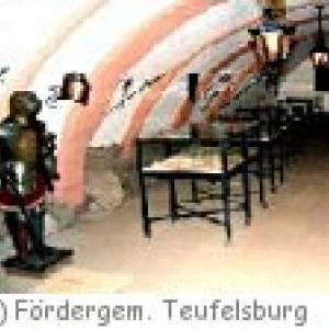 Teufelsburg in Überherrn-Felsberg