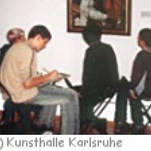 Kinderkurse in der Kunsthalle Karlsruhe