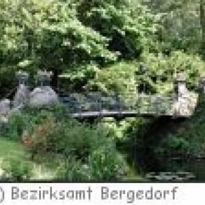Der Bergedorfer Schlosspark in Hamburg