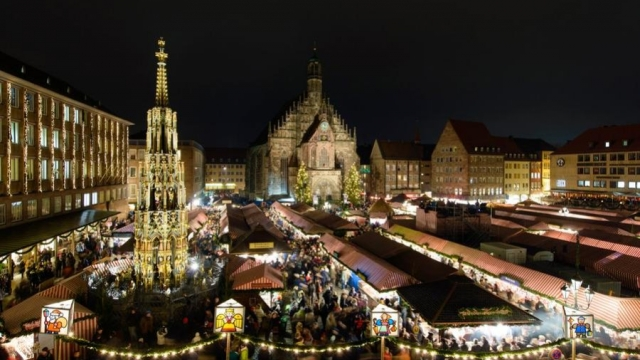 Nürnberber Weihnachtsmarkt (c) Stadt Nürnberg, Fotograph: Uli Kowatsch