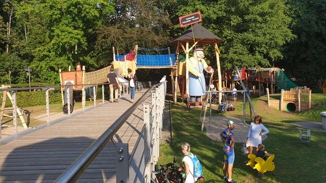 Abenteuerspielplatz mit Alvin in Chemnitz
