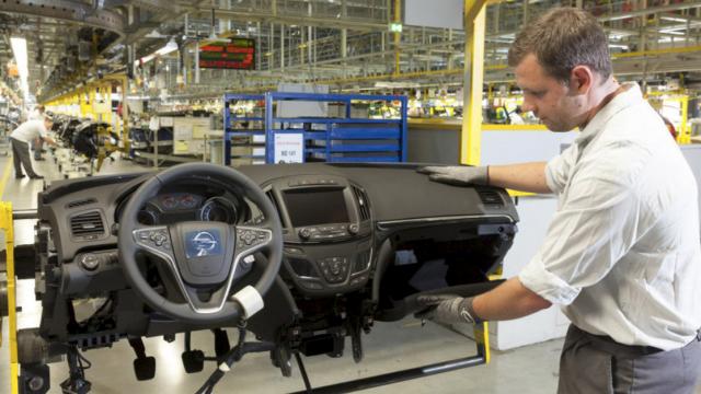 Werksführung bei Opel in Rüsselsheim