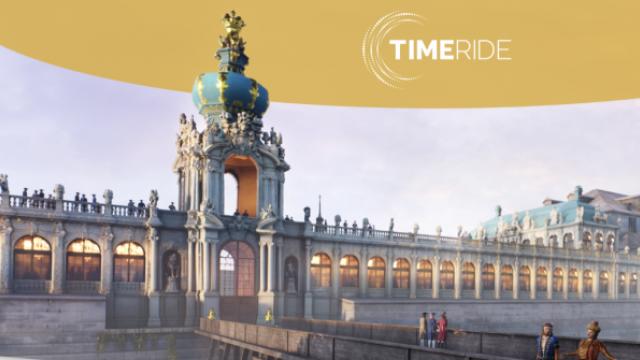 TimeRide Dresden: Familien auf Zeitreise