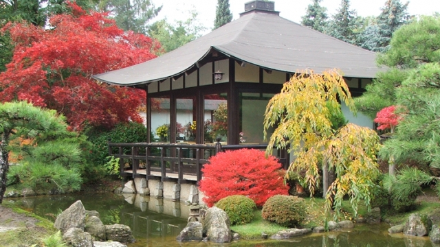 Japanischer Bonsaigarten Ferch