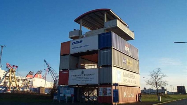 Container Aussichtsturm
