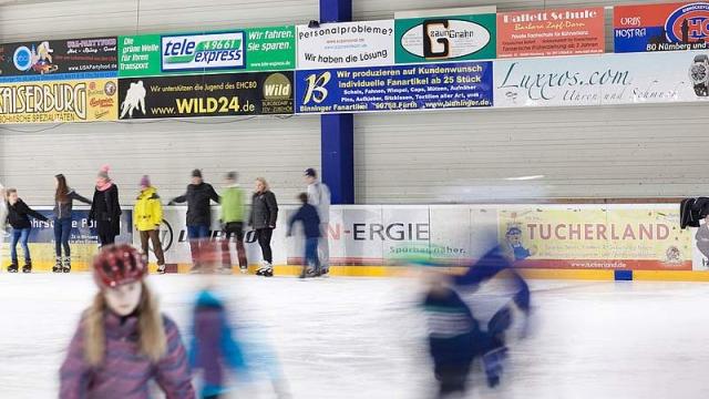 Eislaufen in Nürnberg: Arena Nürnberger Versicherung