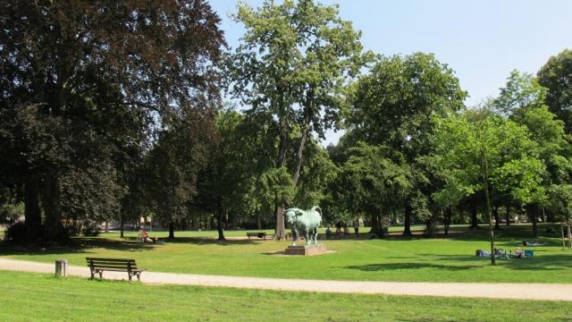 Günthersburgpark in Frankfurt