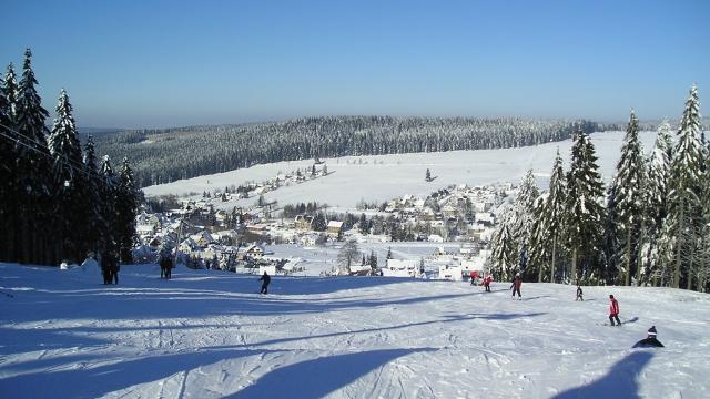 Ski-Fun-Park in Carlsfeld