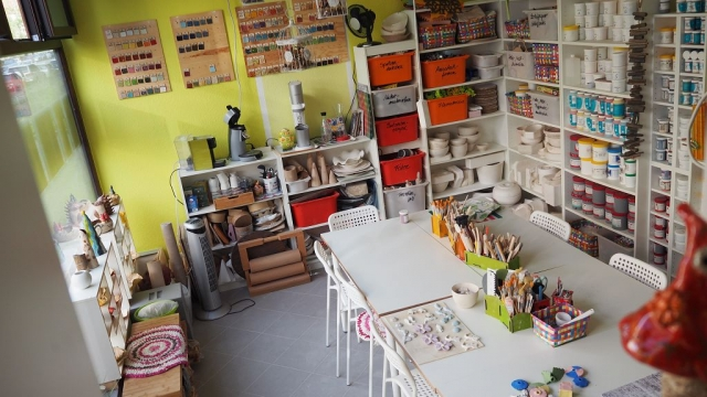 Kreativer Kindergeburtstag in Karinas Töpferwerkstatt in Magdeburg