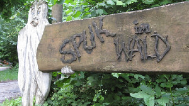 """Spuk im Wald"" in Leimen"