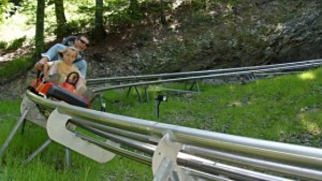Sommerrodelbahn auf dem Erlebnisberg Sternrodt