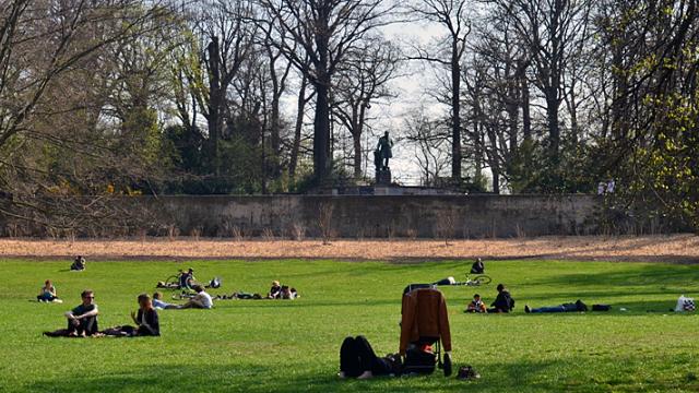 Volkspark Hasenheide in Berlin